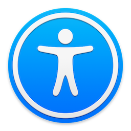MacOS accessibility icon.