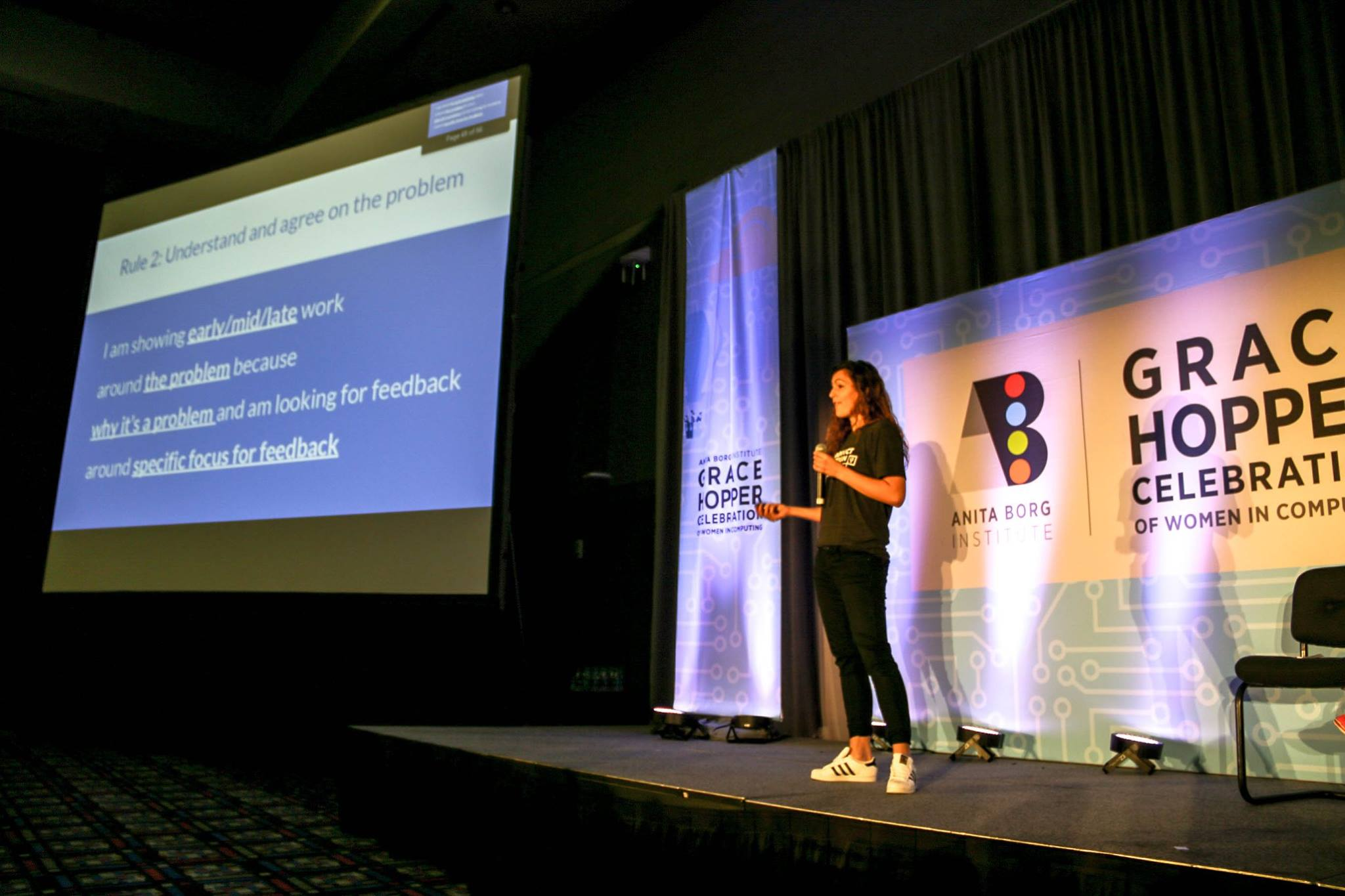 What it's Like To Be a First-Time Speaker at Grace Hopper